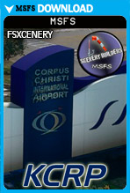 Corpus Christi International Airport(KCRP) MSFS