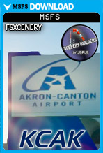 Akron Canton Airport (KCAK) MSFS