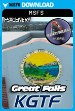 Great Falls International (KGTF) MSFS