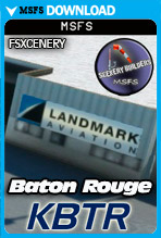 Baton Rouge Metropolitan Airport (KBTR) MSFS