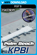 Palm Beach International Airport (KPBI) MSFS