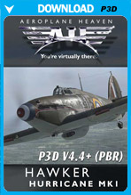 Hawker Hurricane Mk1 (P3D 4.4+)