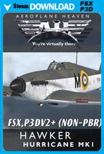 Hawker Hurricane Mk1 (FSX/P3D v2-v4.3)