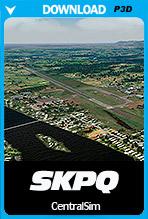 Captain German Olano Moreno Air Base (SKPQ) P3D
