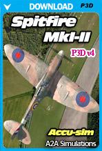 A2A Simulations - Accu-sim Spitfire MkI-II (P3Dv4) PROFESSIONAL