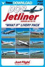 DC-8 Jetliner Series 50-70 - What If Livery Pack