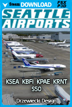 Seattle Airports X with KSEA