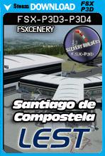 Santiago de Compostela Airport (LEST)