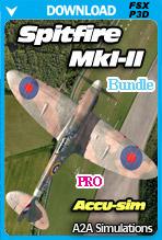 A2A Simulations - Accu-sim Spitfire MkI-II (FSX/P3Dv4) PROFESSIONAL BUNDLE