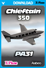 Alabeo PA31 Chieftain 350 (X-Plane)