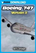 AFS Design - Boeing 747 v2 (FS2004)