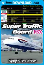 Super Traffic Board (FSX/Steam)