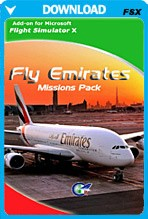 Fly Emirates Missions Pack (FSX)