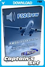 FS2Crew: PMDG 777 Captain's Set