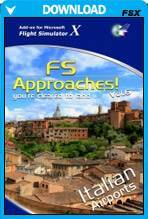 FS Approaches Vol 6: Italian Airports