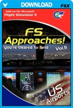 FS Approaches Vol 5 - US Airports