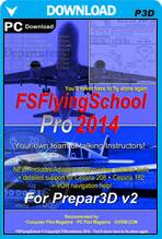 FSFlyingSchool PRO 2014 (P3D)