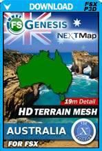 FSGenesis - NEXTMap Australia Bundle FSX/P3D
