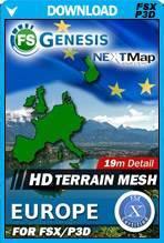 FSGenesis - NEXTMap Europe Bundle FSX/P3D