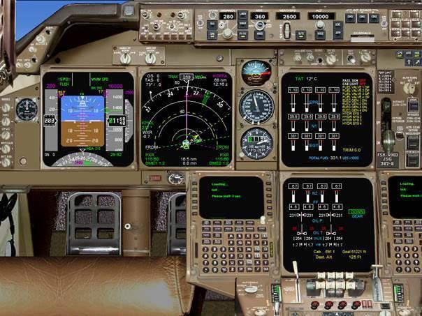 Boeing 747-8 Panel v6 for P3D