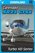 Carenado SR22 GTSX Turbo HD Series (FSX/P3D)