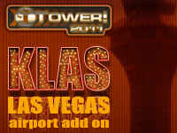 KLAS Las Vegas International Airport Add-On for Tower! 2011