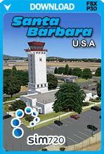 Santa Barbara Airport KSBA (FSX+P3D)