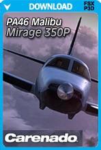 Carenado PA46 Malibu Mirage 350P HD Series