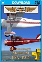 Monocoupe Model 90 for FSX P3D