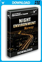 Night Environment Norway (FSX/FSX:SE/P3D)