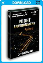 Night Environment: Poland (FSX/P3D)