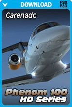 Carenado E50P Phenom 100 HD Series (FSX+P3D)