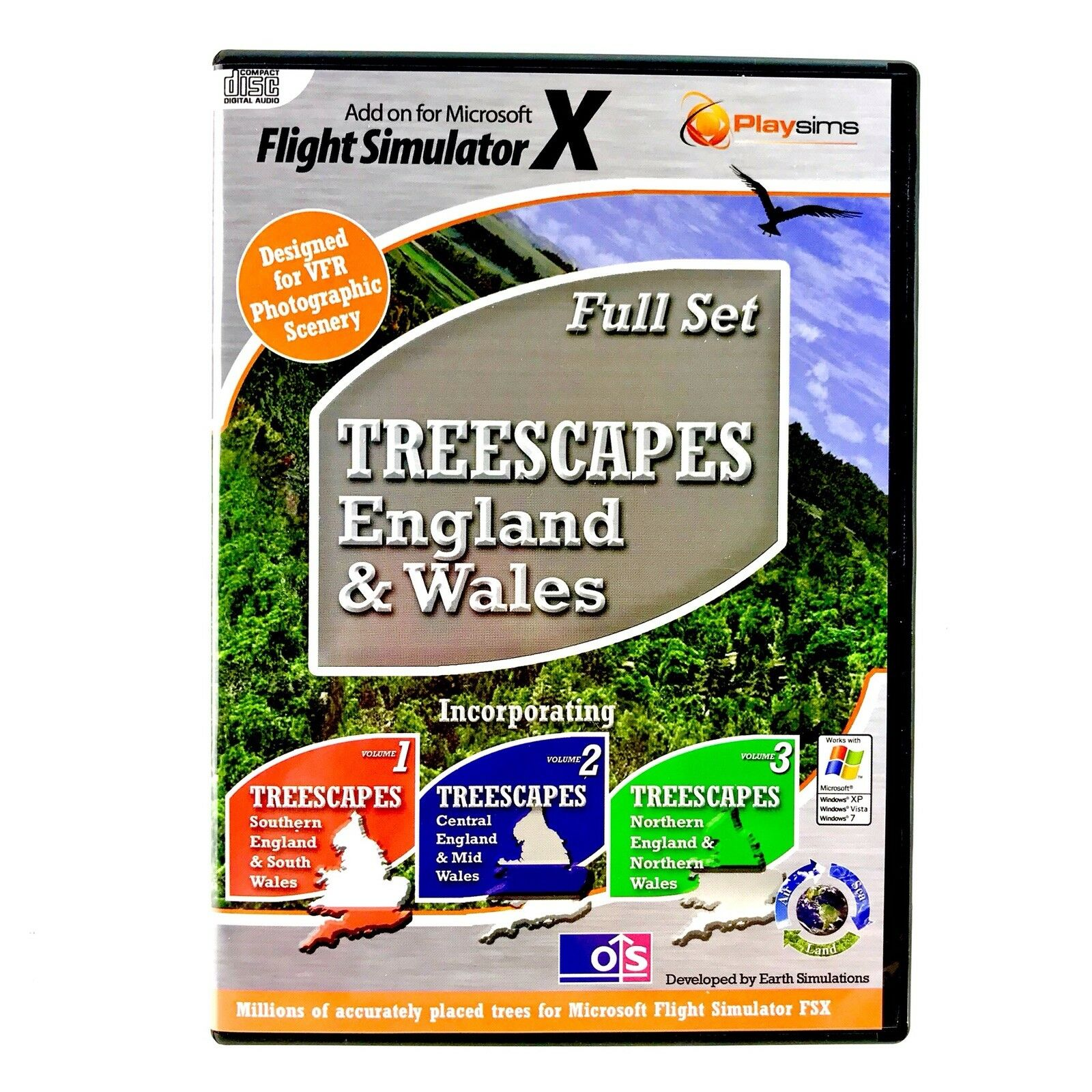 Treescapes - Full Set England And Wales
