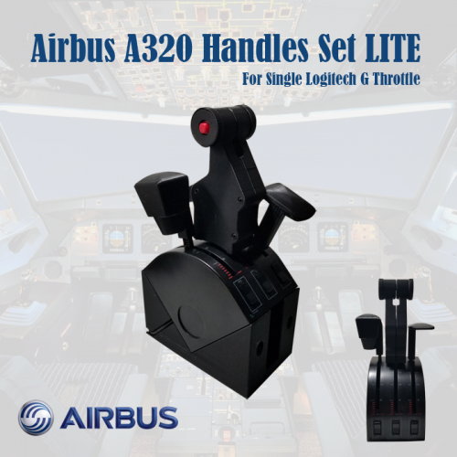 Airbus A320 Handles Set (Single Arm Dual Version)