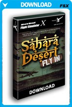 Sahara Desert Fly In