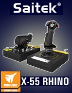 Saitek X-55 Rhino HOTAS System
