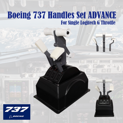 Boeing 737 Handles Set Advance