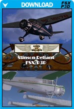 Stinson SR-8 Stinson Gullwing for FSX/P3D