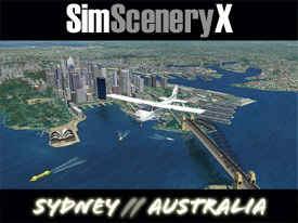 SimSceneryX - Sydney, Australia