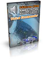 FS2Crew 2010: PMDG 737 Voice Commander Edition
