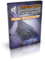 FS2Crew 2010: Wilco feelThere 737 PIC Voice Commander Edition