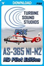 TSS AS-365 N1-2 Pilot Edition HD Soundpack (FSX)