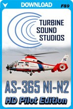 TSS AS-365 N1-2 Pilot Edition HD Soundpack (FS2004)