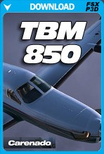 Carenado TBM850 HD Series (FSX/P3D)