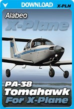 Alabeo PA-38 Tomahawk for X-Plane