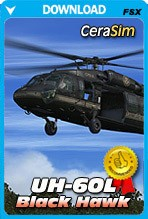 Cera Sim UH-60L Black Hawk (FSX/P3D)