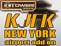 KJFK New York International Airport Add-On for Tower! 2011
