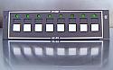 GoFlight (GF-P8) Push Button Module