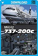 MilViz 737-200c (FSX+P3Dv1)