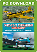 DHC-1 Chipmunk Bubble Canopy